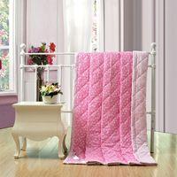 Cheap summer quilt SONNPY hot sale 100% cotton reactive print bed spread home textile brand logo cartoon duvet thinner child blanket