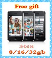 Wholesale Refurbished Original Unlocked GS cell phone GB GB GB Mobile Phone Wi Fi GPS MP ios