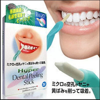 Cheap Hot selling! New arrive Whiten Teeth Tooth Dental Peeling Stick + 25 Pcs Eraser wholesale Free shipping