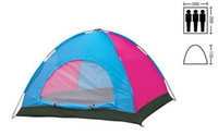 Wholesale OP Hot Sales Camping Tents Person Single Layer Canvas Tent Casual Outdoor Hiking Travel Camping Equipment For Family
