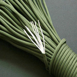 Wholesale OP Green New Paracord Paracord Parachute Cord Lanyard Rope Mil Spec Type III Strand FT
