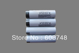 Wholesale NCR18650 mAh Li ion v Rechargeable Battery for Panasonic