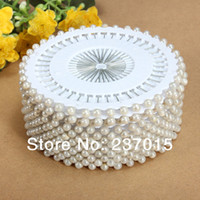 Wholesale 480 Faux Pearl White Round Head Dressmaking Wedding Dress Making Sewing Pins