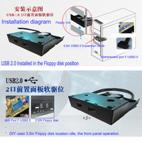 Wholesale Hot selling Floppy drive computer case digital computer For USB2 Expansion cards