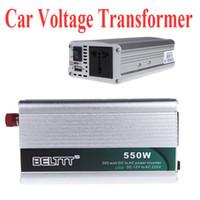 Wholesale 550W DC V to AC V USB Portable Voltage Transformer Car Power Inverter