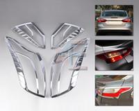 Wholesale Tracking Chrome Car Tail Light Rear lamp Cover Molding Frame Trim for Ford Focus MK3 Sedan CA01347