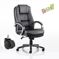 home office furniture - 360 Degree Durable Rubber Furniture Rolling Swivel Wheels Casters Home Office Computer Chair Replacement