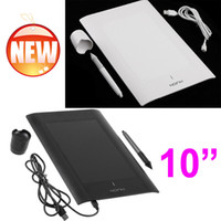 Wholesale Art Graphics Drawing Writting Tablet Pad for PC Laptop Computer Peripherals with Cordless Digital Pen Black White