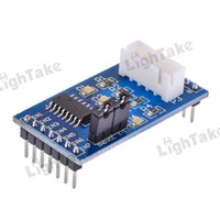 Cheap Free Shipping 5-12V On-board XH-5P socket New ULN2003 Stepper Motor Driver Module - Blue