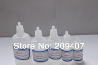 Cheap Wholesale -5ml PE Smoke oil childproof cap bottle with 10000pcs small bottles with corks
