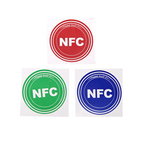 Wholesale 3pcs NFC Tags with Smart Chip for Samsung Galaxy S5 S4 Note III Nokia Lumia Sony Xperia Nexus