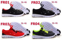 Wholesale 2014 New fashion men s women s free run running shoes Brand sporting walking running shoes sneakers