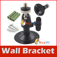 Wholesale New Arrive Monitor Installation Holder Metal Rotary CCTV Camera Wall Mount Bracket Stand