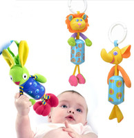 toddler bed - OP Baby toy baby bed bell toy bed to hang the bell baby rattles toddler toys different kinds designs animals chose