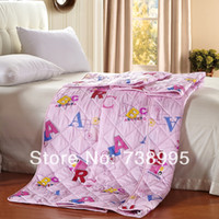 Cheap Home textile bedding set Hello Kitty Snoopy quilt brand cartoon summer blanket sheet duvet bed set bedclothes quilt king twin