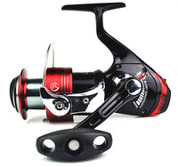 Cheap Available Free shipping GOOD FISHING GEAR CATKING AAEY6000 5BB+1RB spinning reel a Fishing Reels Bait Alert Spinning