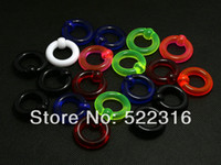 Wholesale OP JEWEL acrylic BCR captive beaded ring septum ring mix size mm mm colors body piercing jewelry