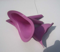Wholesale EMS Female P Ez outdoor Travel Urinal Any time Women Field Urinal Urination Device