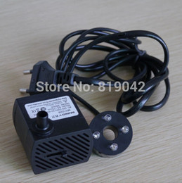 Wholesale OP v4w small water pump ac water pump belt with led lighting desktop fountain potted landscape