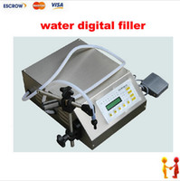 beverage filling - Newest Electrical liquids filling machine water digital filler automatic pump sucker beverage oil packaging equipment