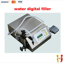 Wholesale Newest Electrical liquids filling machine water digital filler automatic pump sucker beverage oil packaging equipment