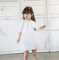 Frozen Girls Autum Cotton Half Sleeve Loose Tulle Gauze Lowe...