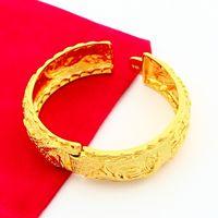 Cheap Bangle 24K Gold Bangle Best Celtic Women's bangle bracelets