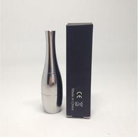 Wholesale Vapor Cannon dual coil atomizer wax dual coil cartomizer stainless steel Vase shape vase flower bowling dual coil vaporizer pen