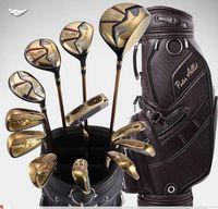 golf club set - 2014 men golf clubs Peter Allis PA set of golf club fashion griphite clubs complete golf set genuine golf sets