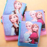 Cheap Frozen Cartoon Coin Purses Children Satchel Bag MINI Pouch Storage Bag Stationery Cases 10pcs lot SK031