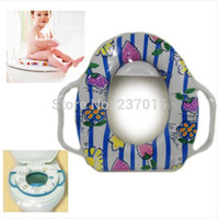 Wholesale New Baby Soft Potty Toilet Seat Cushion Child Toddler Kids Safety Seats With Handles