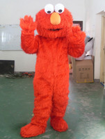 Unisex adult elmo costume - High quality elmo mascot costume adult size elmo mascot costume