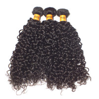 Curly kinky curly hair extensions - Kinky Curly Extensions Malaysian Peruvian Brazilian Virgin Hair Unprocessed Human Hair Weave Deep Wave Curly Brazilian Hair