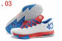 Cheap COOL ! Kevin Durant Running shoes KD 6 Basketball Shoes Cheap Mens KD VI 6 Basketball Shoes Athletic Kd6 Sneakers With Logo Size 40-46 Sport