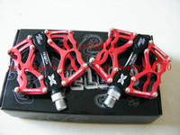 Wholesale XPEDO AC CNC mtb road bicycle pedals red Cycling bike pedals
