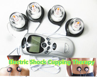 Wholesale Electro Shock Electrode Cupping Therapy Mechine Vacuum Suction Cups Adult Games BDSM Bondage Sex Toys Products for him her