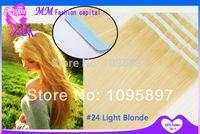 Acheter Remy extension de 26 pouces-Nouveau pu la peau trame bande droite dans les extensions de cheveux remy 40 pièces 20''22''24''26''28''30''inch la mode pas cher de gros