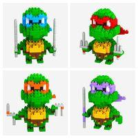 Wholesale LOZ Children s intelligence toys D puzzle toy building blocks small particles of diamond Ninja Turtles Educational Toys