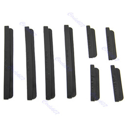 Wholesale 2sets/lot Car Door Edge Guards Trim Molding Protection Strip Scratch Protector Black Free Shipping
