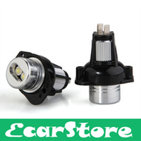 Wholesale car accessories led lights v car W LED Marker Angel Eye Light Lamp White V DC for BMW E90 E91