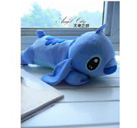 Wholesale EMS Stitch doll pillow plush toy lovers Large dolls cm