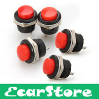 Cheap 5 Red Momentary On Off Push Buttons Horn Switch for Car Auto