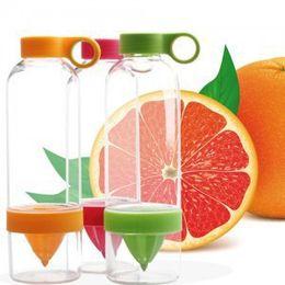 Wholesale OP Lemon Cup Juice Source Vitality Clear Water Bottle Juicing Fruit Cup for Outdoor Fun Sport Green
