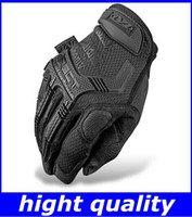 Wholesale New Mechanix Wear M Pact Gloves for Military Tactical Army Combat Riding Motorcycle Bike Bicycle Motorcross Cycling Gloves hightquality free