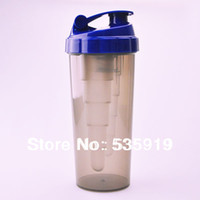 best shaker bottle - OP New High Quality Protein Shaker Nutrition Supplements Blender Shaker Bottle Plastic Water Bottles Gym best choice MC747