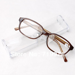 Wholesale 2014 Fashion Hyperopic glasses resin ultra light frame reading glasses Glass for old people YJ0801