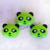 Wholesale 50pcs panda Clip Mp3 music mp3 player with card slot mini clip mp3 cartoon mp3 player