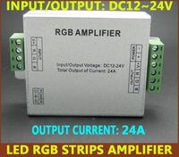 Wholesale DC12V V Led RGB Strip Amplifier A Power Signal Repeater Console Controll For V RGB Strip Light
