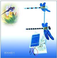Wholesale Solar Power Dragonfly Kit Electronic Toy Bricks DIY Puzzles Educational Toys