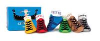 Wholesale Girl Boy Anti Slip Socks Shoes Slipper Unisex Baby Kids Toddler Baby Boat socks Girl Boy Anti Slip Socks Shoes Slipper YFF811H